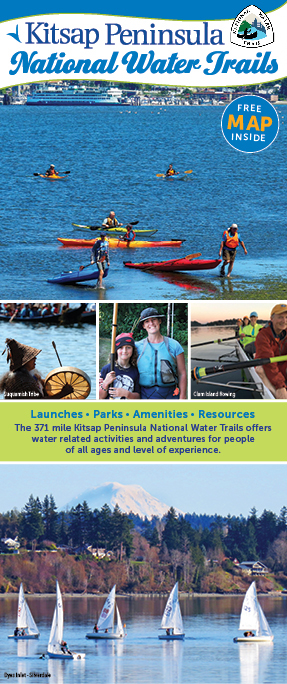 2019 Kitsap Peninsula Water Trails Map